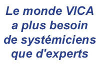 Le monde VICA a plus besoin de systémiciens que d'experts